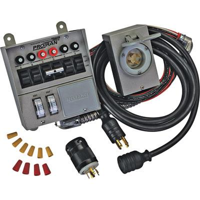 Generator cables - switches and accessories