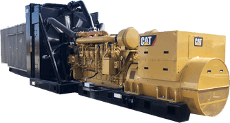NEW 2017 CATERPILLAR 2750KW SKID MOUNTED DIESEL GENERATOR